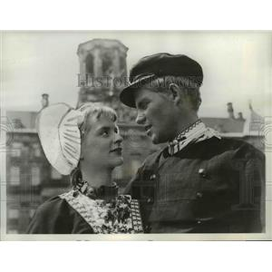 1962 Press Photo Carin Rossby & Rony Zeander-Hans Brinker or the Silver Skates