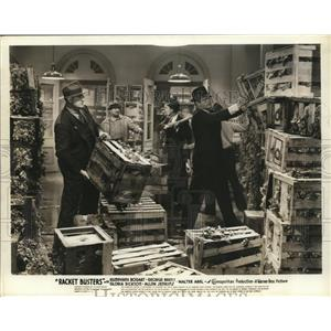 """1938 Press Photo Scene from Film """"Racket Busters"""" with Humphrey Bogart"""