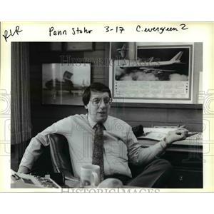 1993 Press Photo Penn Stohr - ora87379