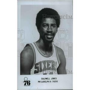 1978 Press Photo Caldwell Jones of the Philadelphia 76ers - orc12689