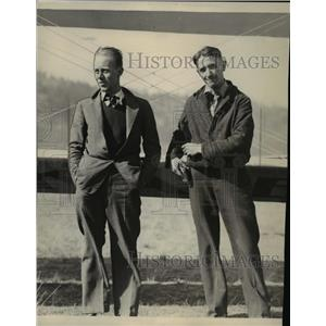 Press Photo Al Coppula with M.M. Wilson - spa12129