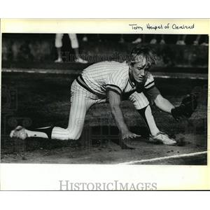 1980 Press Photo Cleveland Senior Terry Heupel -Pitcher - orc14701