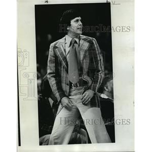 1977 Press Photo Denver Nuggets coach, Larry Brown - orc14844
