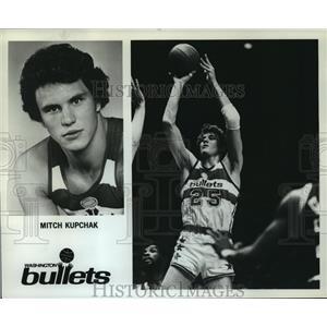 1980 Press Photo Mitch Kupchak, Washington Bullets - orc14514