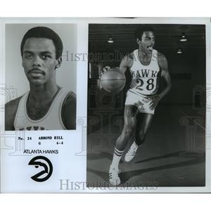 "1978 Press Photo #24 Armond Hill, G, 6'4"", Atlanta Hawks - orc14483"