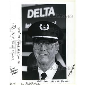 1991 Press Photo Jack McEncroe Sets Up Scholarship Fund For Children