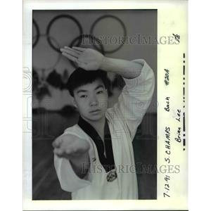 1991 Press Photo S. Champs Brian Lee - orc12003