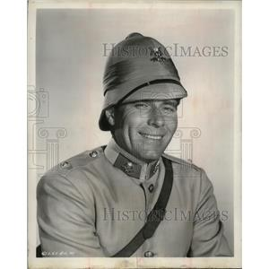 1957 Press Photo Phil Carey, Actor - mjx03597