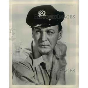 "1955 Press Photo Forrest Tucker Stars as Crunch Adams in ""Crunch and Des"""
