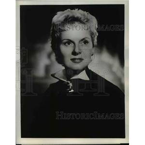 1955 Press Photo Ann Todd in United States Steel Hour - orp29719