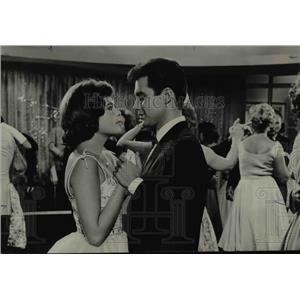 """1962 Press Photo Deborah Walley & Michael Callan, Young Lovers in """"Bon Voyage"""""""
