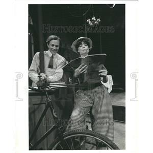 1980 Press Photo Tim Halligan Kenned Maclver Theater