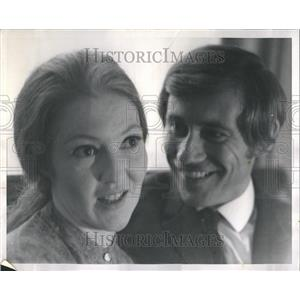 1968 Press Photo Jo Henderson and Tony Tanner