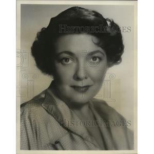 1954 Press Photo Lila Lee, Silent Movie Actress