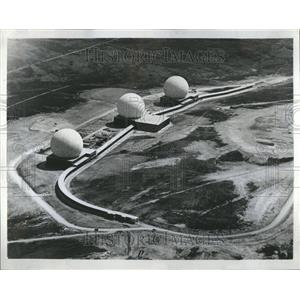 1963 Press Photo Radar at Flyingdales, England