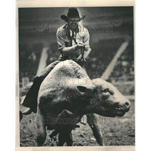 1981 Press Photo World's Toughest Rodeo Cowboys Travel