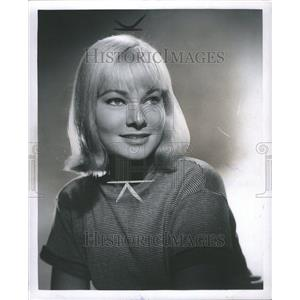 1959 Press Photo May Britt Swedish Movie Actress