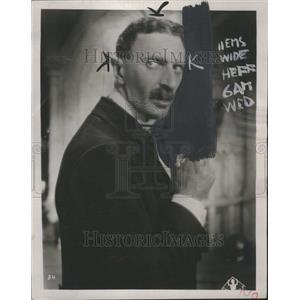 1932 Press Photo Felix Bressart Actor - RRR45517