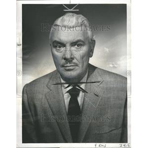 1951 Press Photo George Brent Television Wire Service - RRR45519