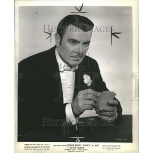 1942 Press Photo George Brent - RRR45525