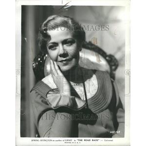 1937 Press Photo Actress Spring Byington - RRR45561