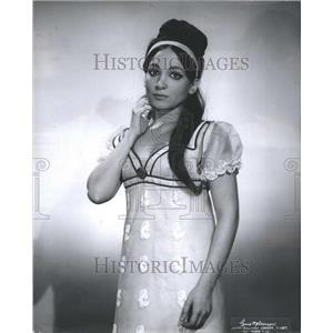 1966 Press Photo Teresa Stratas Actress
