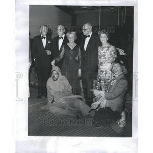 1976 Press Photo Lynn A. Townsend Douglas Fairbanks
