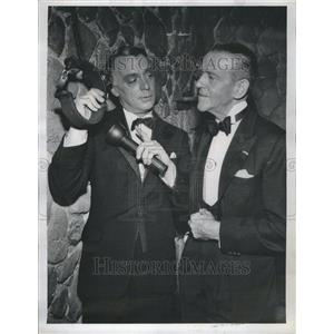 1961 Press Photo FRED ASTAIRE Harry Townes Aloca Premie - RRR45717