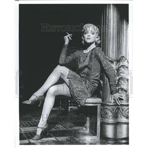 1954 Press Photo Jane Krakowski GrandHotel Singer Actor - RRR45817