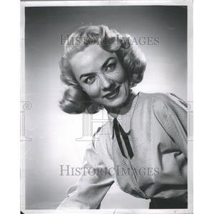 1963 Press Photo Audrey Mary Totter Actress
