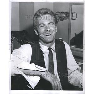 1960 Press Photo Rip Torn Actor