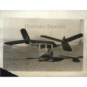 1931 Press Photo Helicopter Model by Wilbur G. Nelson - ney16524