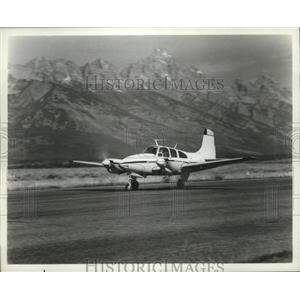1967 Press Photo E95 Travel Air Plane by Beech Aircraft Corporation - ney16695