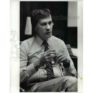 1982 Press Photo Harry Weltman - Cavs - cvb63451