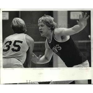 1981 Press Photo Rich Yonakor of Cavs - cvb69478