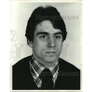 1981 Press Photo Joe Silvestro, St. Edward High Wrestling - cvb73042