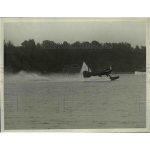 1929 Press Photo Lt.Alfred J, Williams,Mercury Racer win the Scheider Cup Races