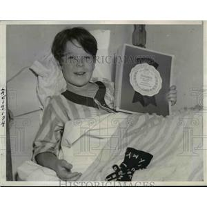 1939 Press Photo Child Actor Bobs Watson Wins Box Office Blue Ribbon - nef06028