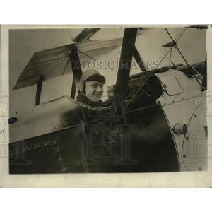 1919 Press Photo Colonel Ray Collishaw Competing in Transatlantic Contest