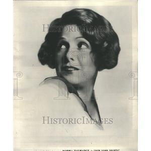 1930 Press Photo Norma Talmadge Screen Idol Twenties - RRR47773