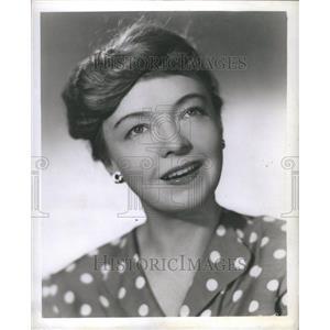 1952 Press Photo Lillian Gish
