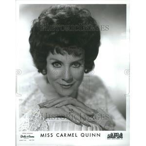1969 Press Photo Miss Carmel Quinn