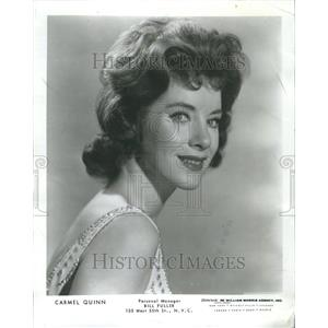 1965 Press Photo Carmel Quinn