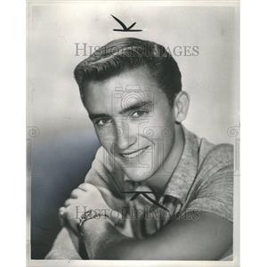 1956 Press Photo Ronnie Burns - Actor.