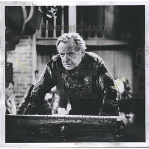 1969 Press Photo Arthur Kennedy Factory Worker Movie