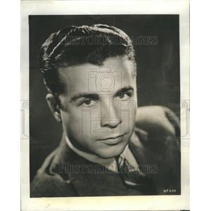 1938 Press Photo Dick Powell Actor Radio Series - RRR49313