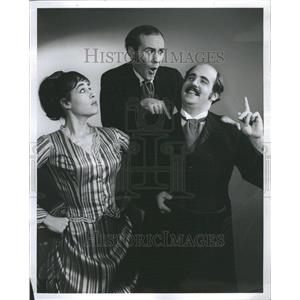 1968 Press Photo Italian Straw Hat Hilberry Theatre - RRR49427