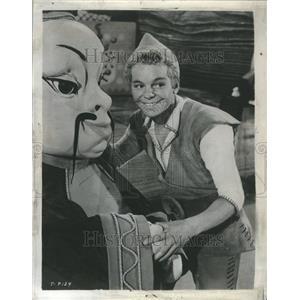1958 Press Photo Russ Tamblyn Tom Thumb Musical