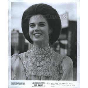 1973 Press Photo Lee Purcell Kid Blue Molly Ford Wife