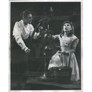 "1959 Press Photo Play, ""The Miracle Worker"""